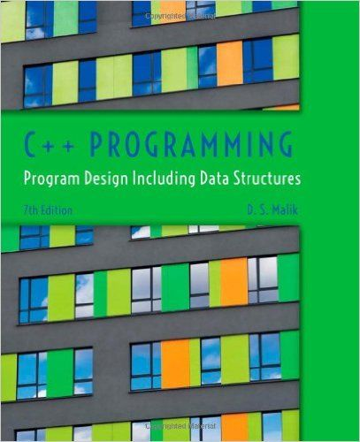 Program Design Including Data Str C+ Programming