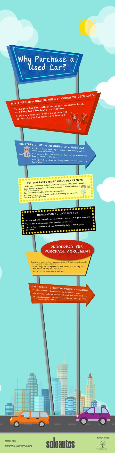 Why Purchase A Used Cars Infographic Old Used Cars