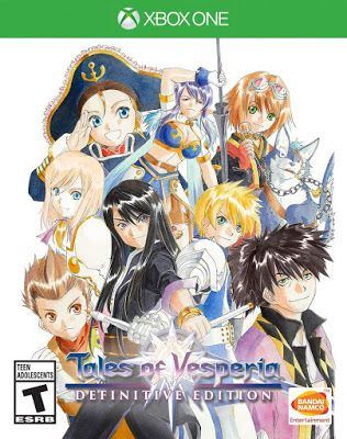 New Games Tales Of Vesperia Definitive Edition Pc Ps4 Xbox One Switch Tales Of Vesperia Tales Series Anime Expo