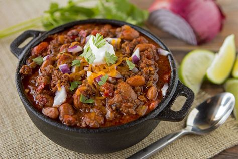Kick off football season with this delicious recipe for 3-Pepper Tailgate Chili.