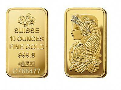 Pamp Suisse Gold Bullion Ten Ounce 10 Oz Bar Goldbullion Gold Bullion Coins Gold Bullion Gold Bullion Bars