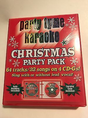 Karaoke Christmas Party.Party Tyme Karaoke Christmas Party Pack 4 Cd Gs Cds