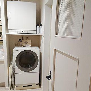 バス トイレ 乾燥機 Cubel 洗濯機 洗面所 梅雨 などのインテリア実例 2018 05 30 20 05 25 Roomclip ルームクリップ 乾太くん 洗面所 乾燥機