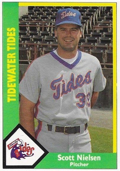 Nielsen Scott Tidewater Tides Cmc 359 Baseball