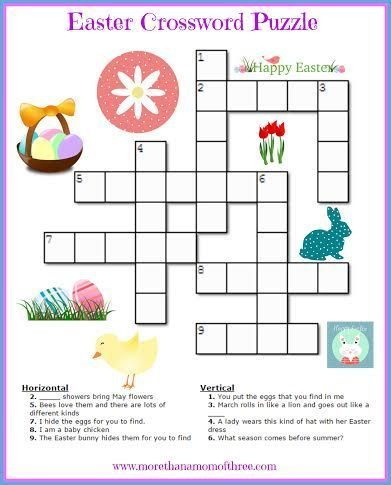 Fun Printable Easter Activities For Kids Printable Easter