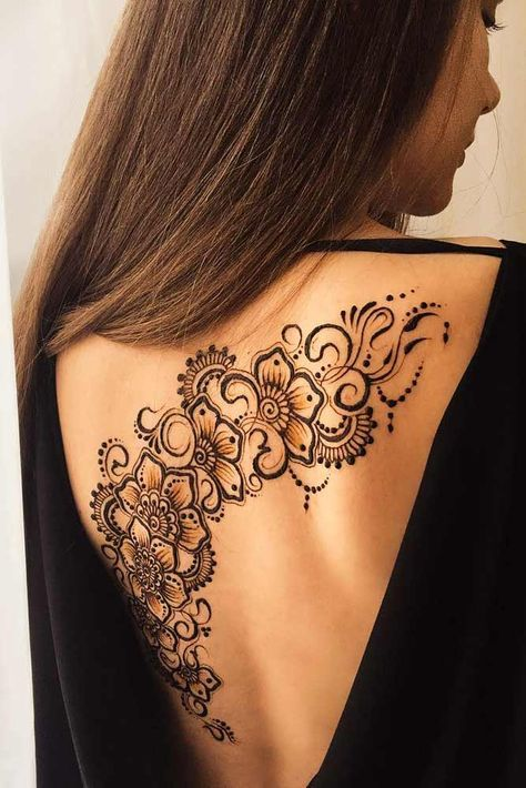 Beautiful Henna Tattoo Designs And Useful Info About It Henna Inspired Tattoos Henna Tattoo Back Floral Lace Tattoo