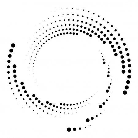 Dotted Dots Speckles Abstract Concentric Circle Spiral Swirl Twirl Element Composition Design Geometry Art Circle Art