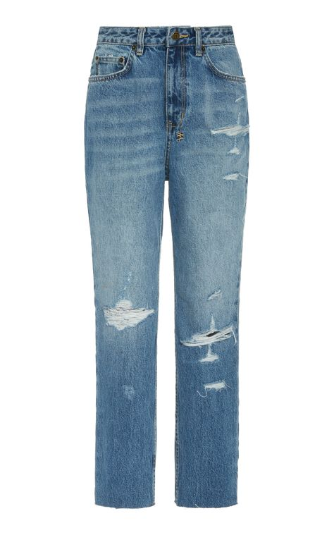 Ksubi Chlo Wasted Rigid High Rise Straight Leg Jean in 2020