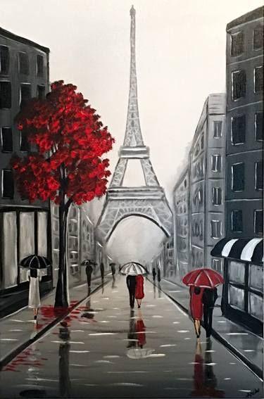 "Saatchi Art Artist Aisha Haider; Painting, ""Eiffel Streets 2"" #art - #aisha #artist #eiffel #haider #painting #Saatchi #streets - #new"