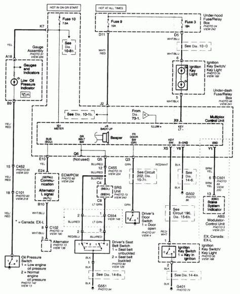 [SCHEMATICS_4JK]  1997 Honda Crv Wiring Diagram di 2020 | 1997 Honda Cr V Wiring Diagram |  | Pinterest