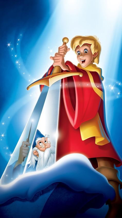 The Sword in the Stone (1963) Phone Wallpaper | Moviemania