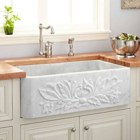 Farmhouse Sink With Decorative Front Google Search With Images