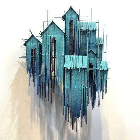 "David Moreno - ""Floating Favelas IV"" (2018)"