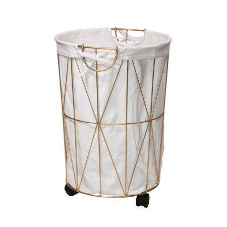 Home With Images Hamper Metal Trash Cans Diy Laundry Basket