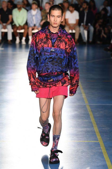 MSGM Spring 2019 Menswear Milan Collection - Vogue #mensfashiontrendy