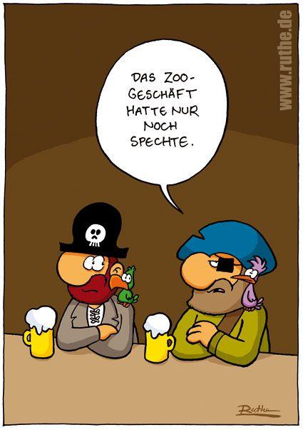 pirat papagei augenklappe kneipe bier tierhandlung