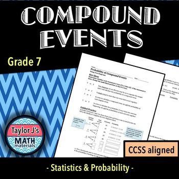 Compound Events Worksheet With Images Probability Worksheets