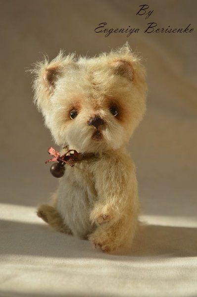 Bobik Puppy By Evgeniya Borisenko Bear Stuffed Animal Dog Sketch Toy Puppies