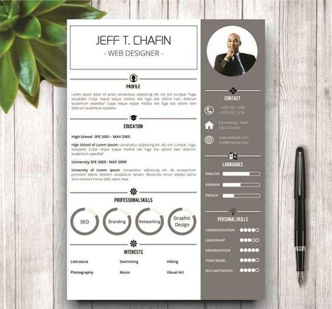 Simple Resume Template In MS Word By Wordresume On Creativemarket