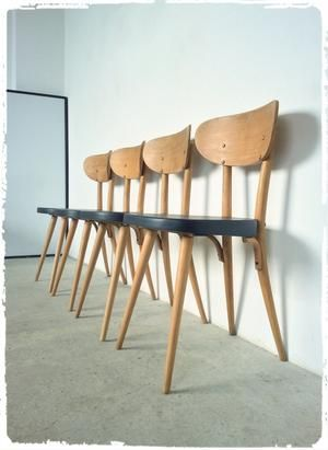 Chaises Vintage Baumann 720 Revisitees Chaise Vintage Mobilier Decoration Vintage