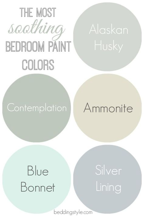 The most soothing bedroom paint colors - great guide ...