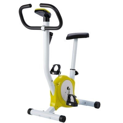 Exercise Bicycle Stationary Upright Bike Cycling Cardio Trainer