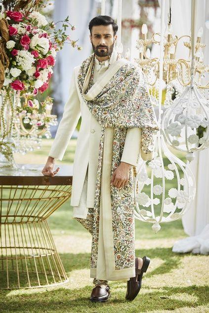Varun Bahl Men In 2020 Indian Groom Wear Wedding Kurta For Men