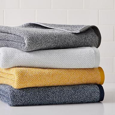 Organic Heathered Towels In 2020 Towel Bathroom Towels Bath Towels