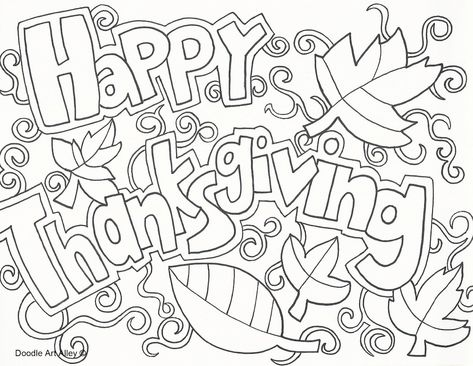 Thanksgiving Coloring Sheets - Free and Printable | 366x473
