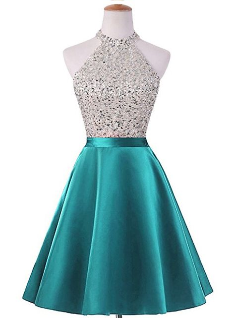 HEIMO Women's Sequined Keyhole Back Homecoming Dresses Beaded Prom Gowns Short 0 Royal Blue Pretty Prom Dresses, Hoco Dresses, Dance Dresses, Ball Dresses, Homecoming Dresses, Cute Dresses, Beautiful Dresses, Ball Gowns, Prom Gowns