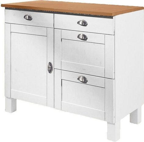 Unterschrank Oslo Home Kitchen Pantry Furniture