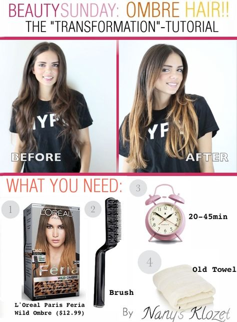 It was time for a change...check out my hair tutorial on how to do ombre at home!