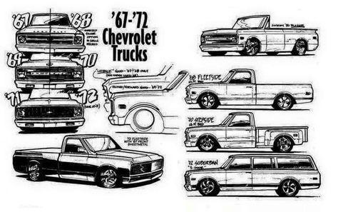 101 best Cool trucks images on Pinterest   C10 trucks, Chevy trucks ...