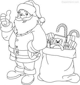 10 Dibujos De Navidad Para Imprimir Y Colorear Dibujo Navidad Para Colorear Dibujos De Navidad Para Imprimir Dibujos De Navidad