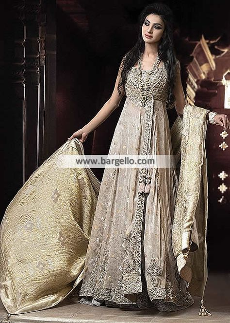 Dashing Angrakha Bridal Dress for Reception and Special Occasions Get the dreamy bridal look with this dashing angra