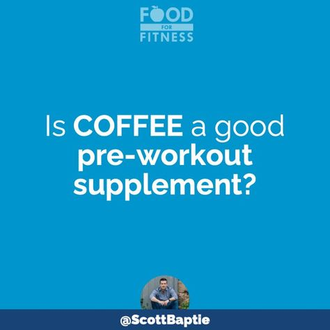 Is Coffee A Good Pre-Workout Supplement?
