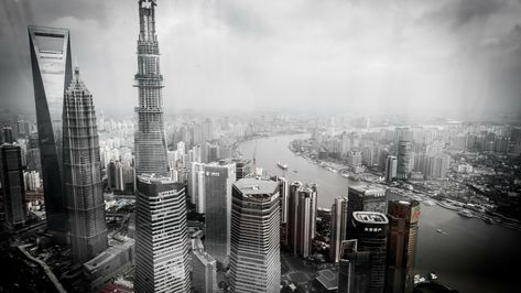 Wallpaper of the day – Cityscape from Shanghai, China