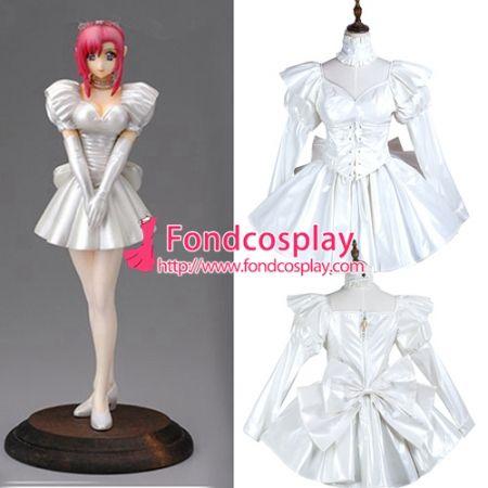 PVC vinyl Sissy maid dress hobble skirt cross dressers Tailor-made
