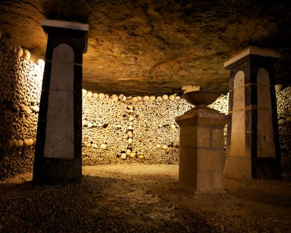 Paris Catacombs - one of the creepiest and most fascinating places in the world.