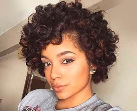 52 Amazing Curly Natural Hairstyles Ideas For Women Natural Hair