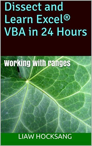 Dissect And Learn Excel Vba In 24 Hours PDF | Software