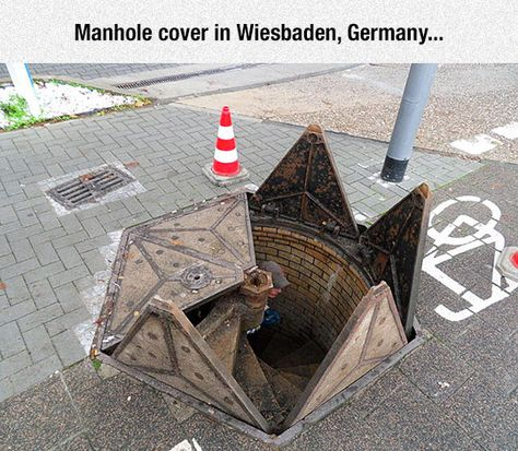 These Are Some Really Cool Manholes