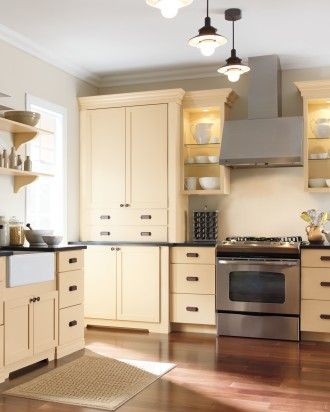 Living Kitchen Designs from The Home Depot | Martha stewart ...