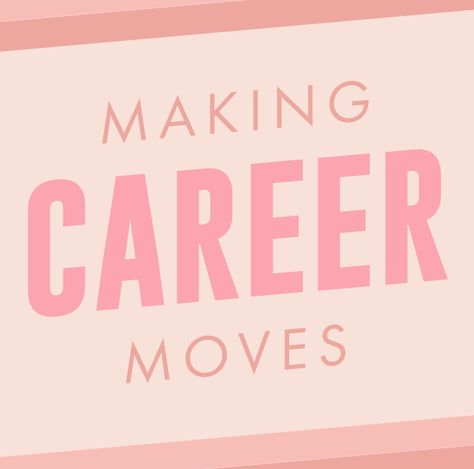 New Series Alert 💖 We're coming at you every Friday with a fresh roundup of women who are making BIG moves, announcements + changes in their careers! 💪 From artists and editors to authors and entrepreneurs, these ladies are killing it (per usual). ✨