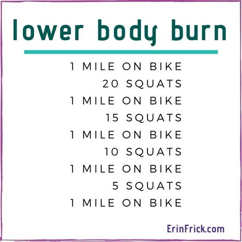 6 Cardio Workouts Under 30 minutes — ERIN FRICK Fitness & Life Coach - Easy Cardio Workout that you can do in 30 minutes or less. Rowing Workout, Spinning Workout, Travel Workout, Cardio Workouts, 30 Minute Cardio Workout, Spin Bike Workouts, Tabata, Easy At Home Workouts, Cardio At Home
