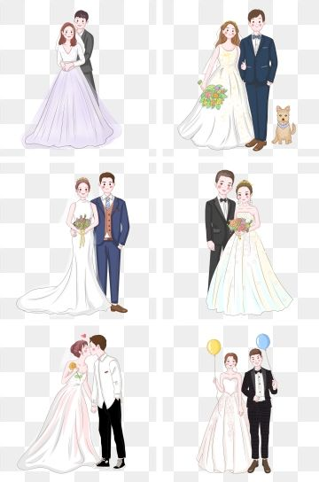 Imagens Noivos Png E Vetor Com Fundo Transparente Para Download Gratis Pngtree Bride Clipart Wedding Illustration Wedding Caricature
