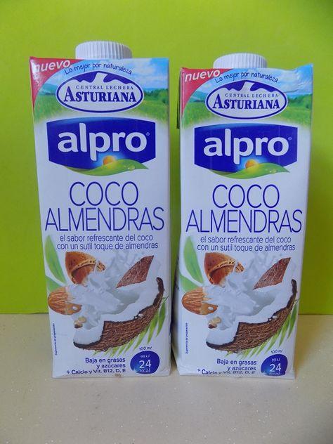 Bebida De Coco Y Almendras Alpro Almendras Coco