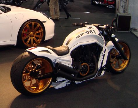 A forum community dedicated to Harley Davidson V-Rod Motorcycle owners and enthusiasts. Triumph Motorcycles, Cool Motorcycles, Indian Motorcycles, Custom Street Bikes, Custom Bikes, Custom Choppers, Bike Garage, Vrod Custom, Vrod Harley