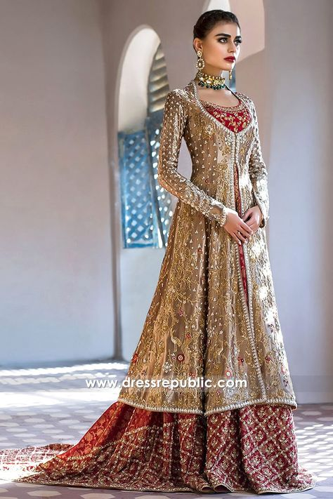 Sania Maskatiya Bridal Dresses 2017 UK Shop Wedding Lehenga Choli at Dress Republic Custom haute couture design solutions available.