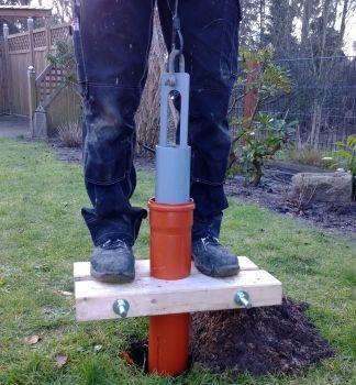 Holzzange Fur Kg Rohre Dn100 110 Brunnen Bauen Gartendusche